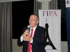 Xavier Capdevielle à la soirée des associations françaises à Miami organisée par L'Union des Français de l'Etranger, FIPA, Alliance Française et Miami Accueil