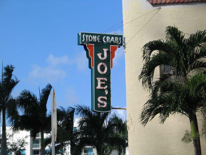 Restaurant Joe Stone Crab à Miami Beach