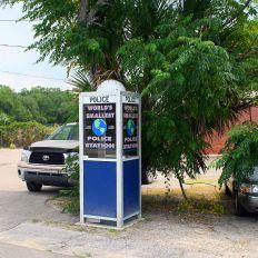 Carrabelle : plus petit poste de police du monde