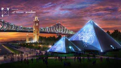 Photo de Guy Laliberté va présenter sa pyramide PY1 à Montréal puis à Miami