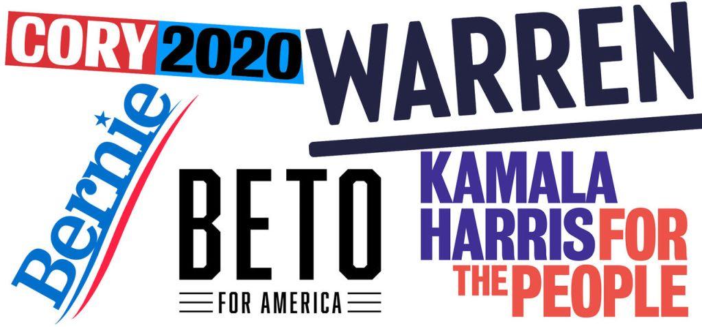 Candidats à la primaire démocrate de 2020 aux Etats-Unis