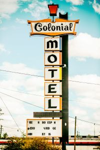 Colonial Motel à Gallup en Californie.