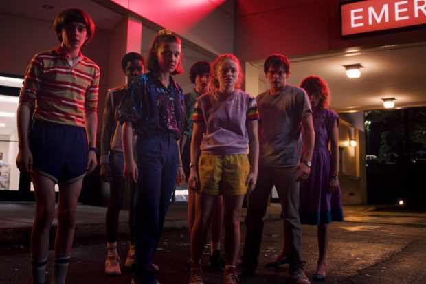 série Stranger Things (Saison 3) sur Netflix