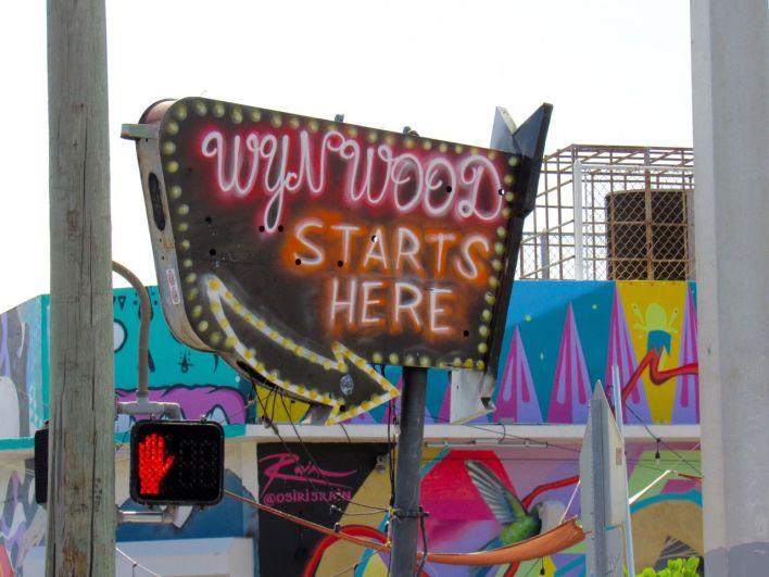 Quarrtier de Wynwood, l'art district de Miami
