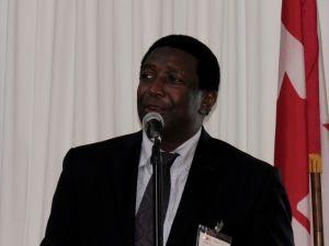 Dale V.C. Holness (vice-maire du comté de Broward) à la Fête nationale du Canada en Floride organisé à Fort Lauderdale par la Chambre de Commerce Canada-Floride