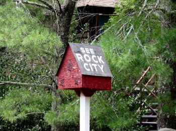 Rock City à Chattanooga dans le Tennessee