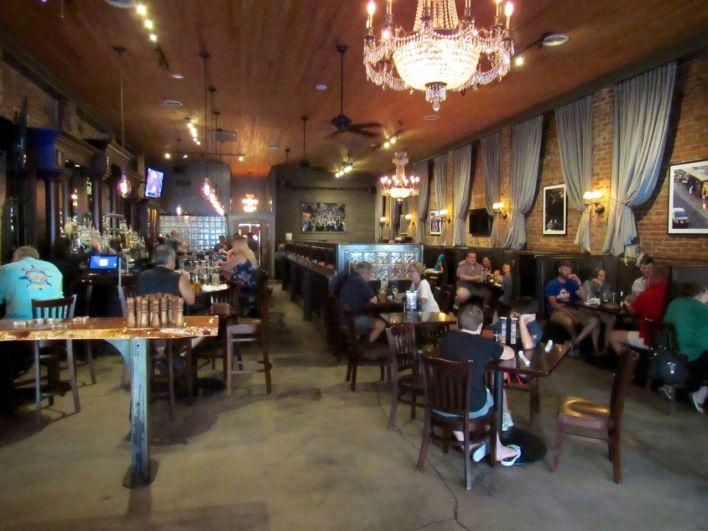 Restaurant Nic & Norman's à Senoia en Géorgie