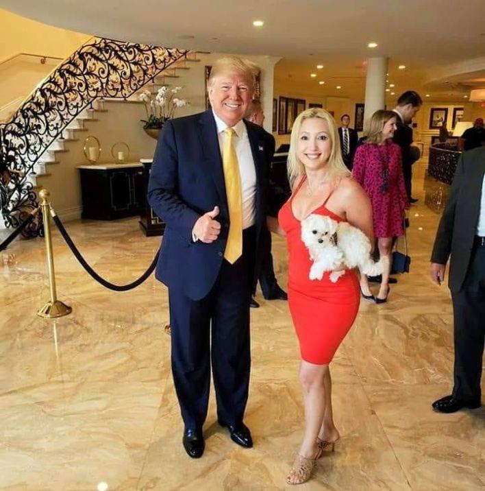 Donald Trump avec Christine