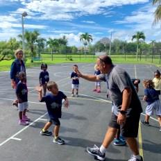 Le coach au Lycée Franco-Américain de Cooper City !