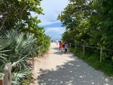 Cape Florida State Park, sur l'île de Key Biscayne (Miami en Floride)