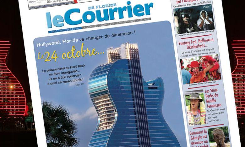 Le Courrier de Floride du mois d'octobre 2019
