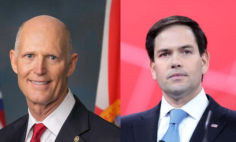 Rick Scott et Marco Rubio