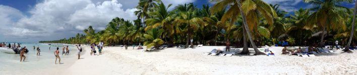 L'île de Sanoa dans le parque Nacional del Este (en République Dominicaine)