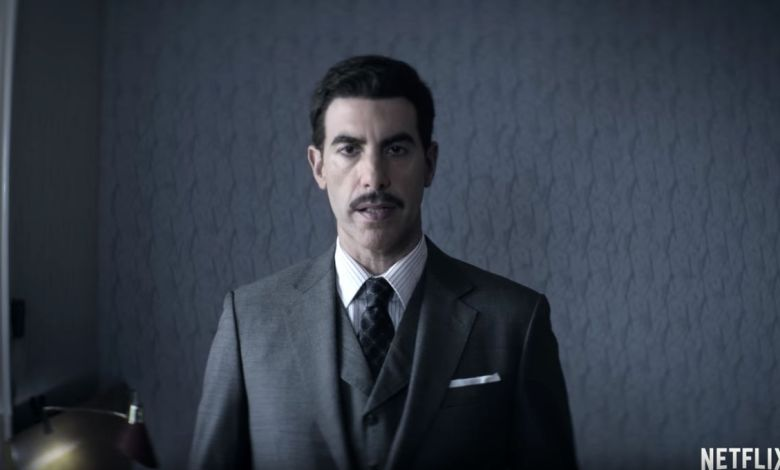 "Sacha Baron Cohen dans ""The Spy"""