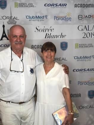 Roger Pardo, président de FIPA et sa femme (Crédit photo : FIPA)