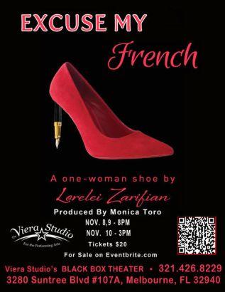 Théâtre : Lorelei Zarifian, Excuse my french