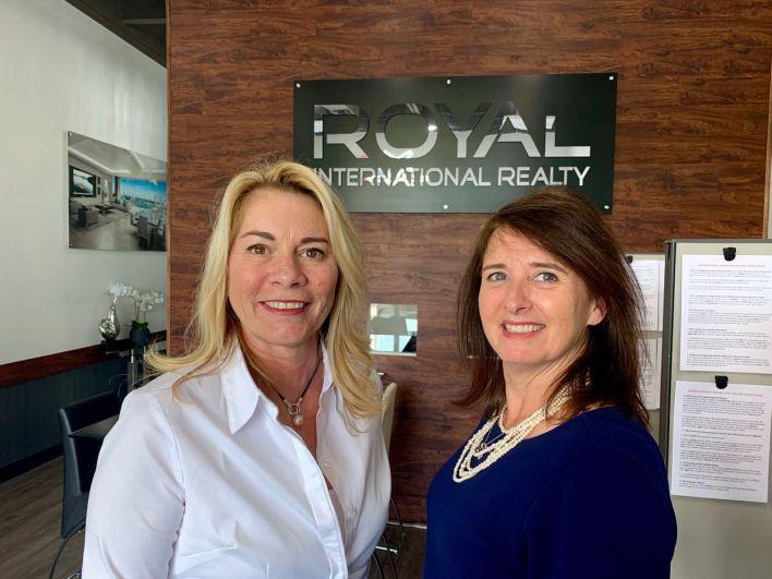 Carolyn Crête-Kaufman et Rachelle Buyak, agents immobiliers en Floride