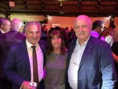 Alain Ouelhad en compagnie de M et Mme Pardo.