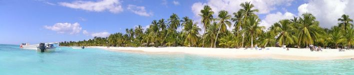 Plage de Canto de la Playa sur Sanoa