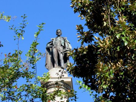 Statue de Calhoun à Charleston
