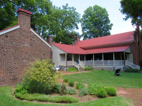 La Carter House à Franklin près de Nashville dans le Tennessee