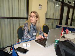 Marie-Philippe Bédard, directrice en Floride de la CCCF, lors du gala des 10 ans de la Chambre de commerce Canada-Floride