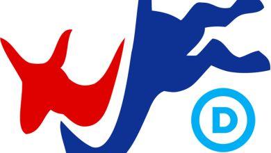 Les logos du Parti Démocrate américain
