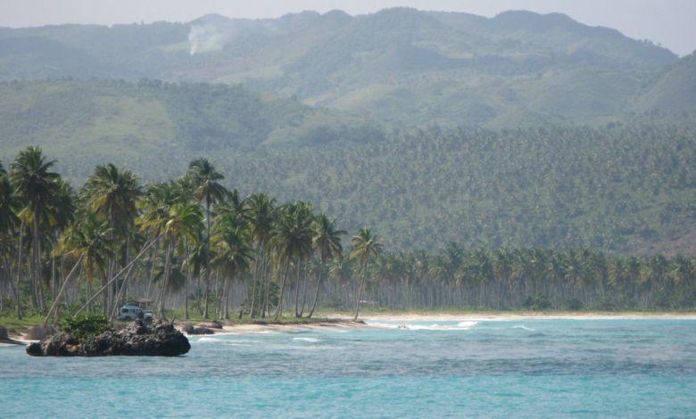 Playa Rincón sur la péninsule de Samaná en République Dominicaine