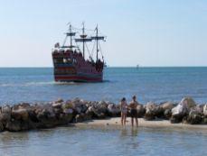 Shephard's Beach (et son tiki bar) à Clearwater