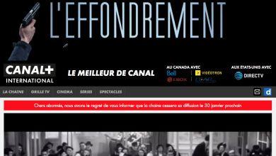 Photo of Fin de Canal+ International en Amérique du Nord ce 30 janvier… en attendant un éventuel retour