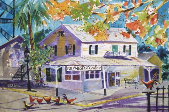 Key West Old Island Days Art Festival