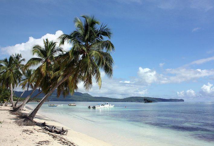 Las Galeras, sur la péninsule de Samaná en République Dominicaine.