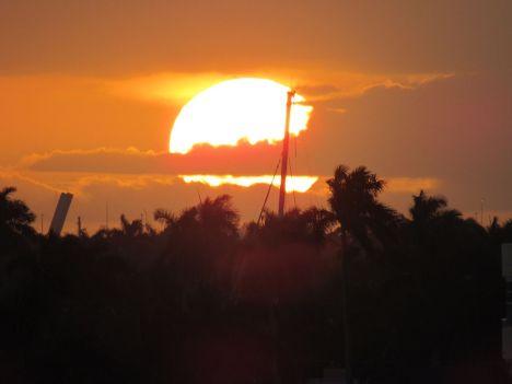 Coucher de soleil sur Fort Lauderdale
