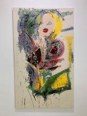Peinture de Nate Lowman au Rubell Museum de Miami (collection privée d'art contemporain)