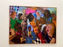 Oeuvres de Robert Coescott au Rubell Museum de Miami (collection privée d'art contemporain)