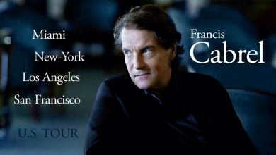 Photo de Francis Cabrel en concert à l'automne 2020 à San Francisco, Los Angeles, New-York et Miami !