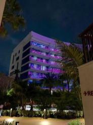 Guitare-hotel du Seminole Hard Rock casino de Hollywood en Floride