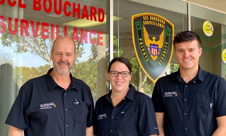 Mario, Nathalie et Joseph, de la SCL Bouchard Surveillance : pour la sécurité des résidences en Floride