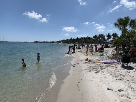 Plage de Fort Pierce le 9 mai 2020