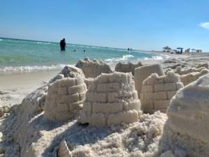 Plage de Langdon Beach à Fort Pickens (Pensacola)