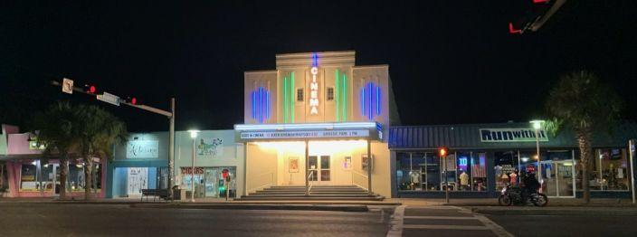 Le vieux cinéma de Fort Walton Beach
