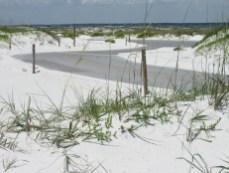 La route du Golf Islands National Seashore entre Navarre Beach et Pensacola Beach