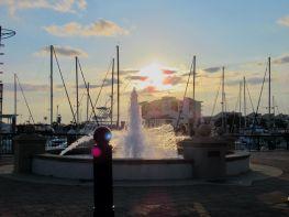 Port de Pensacola en Floride