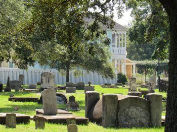 Le cimetière St Michael's de Pensacola en Floride