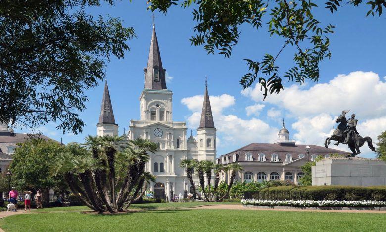 Jackson Square à La Nouvelle Orléans
