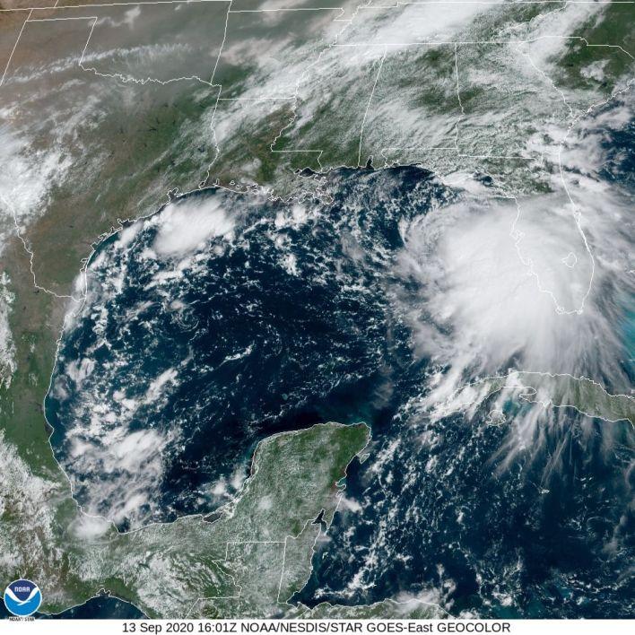 Tempête tropicale Sally