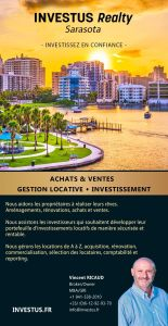 Vincent Ricaud Investus Realty Bradenton Sarasota Immobilier
