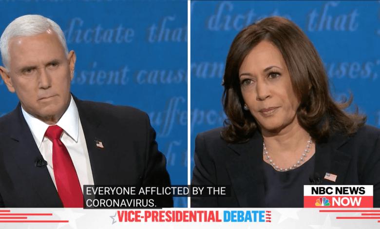 Débat entre Mike Pence et Kamala Harris