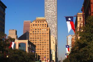 La skyline de Downtown Houston, au Texas
