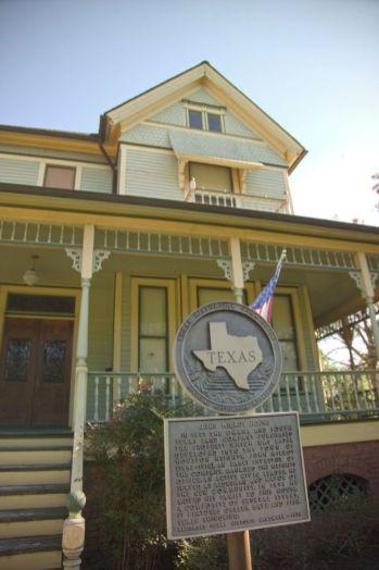Maisons victoriennes sur Heights Boulevard à Houston Height
